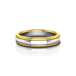 4.5mm Mens Wedding Band