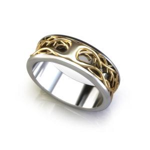 Tree of Life Wedding Ring