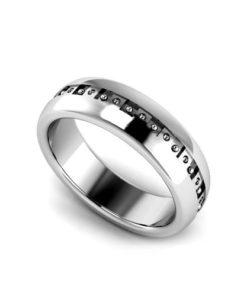Men's Geo Wedding Ring