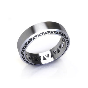 Geometric Flat Mens Band
