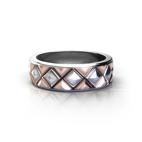 Quilted Wedding Ring