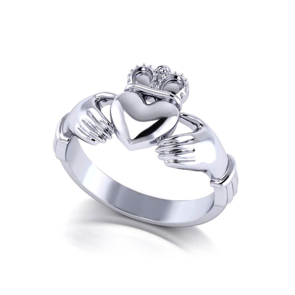 Mens Claddagh Ring