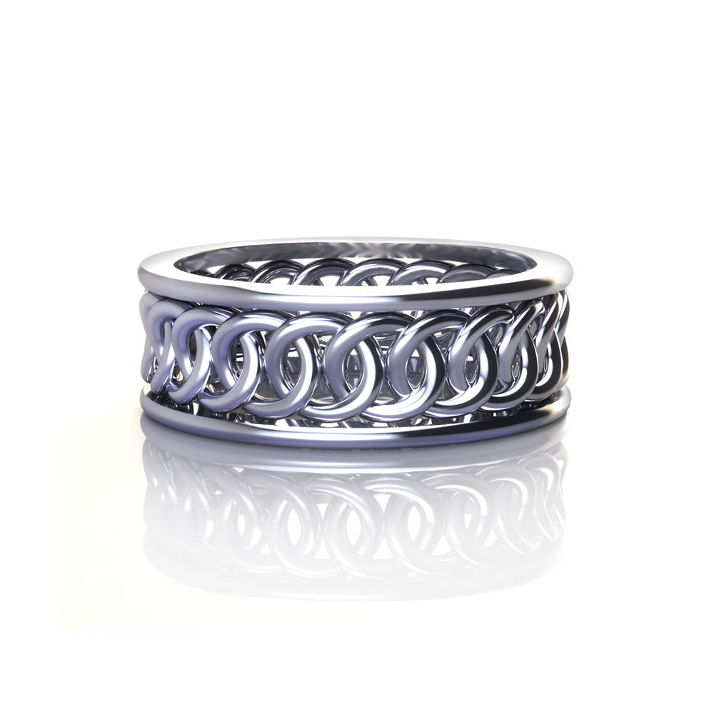 circle wedding rings interlocking circle wedding ring jewelry designs 2967