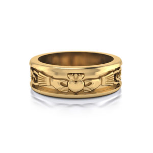 Men's Claddagh Wedding Ring