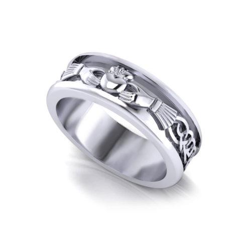 Men's Claddagh Wedding Ring