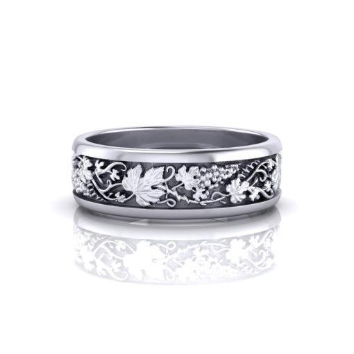 Grapevine Man's Wedding Ring
