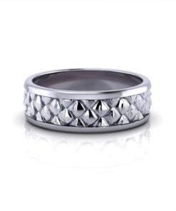 Pinecone Men's Wedding Ring