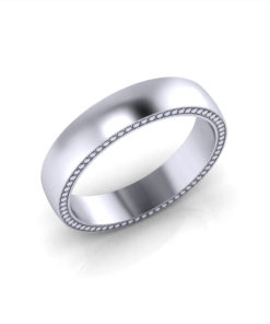 Simple Men's Wedding Ring