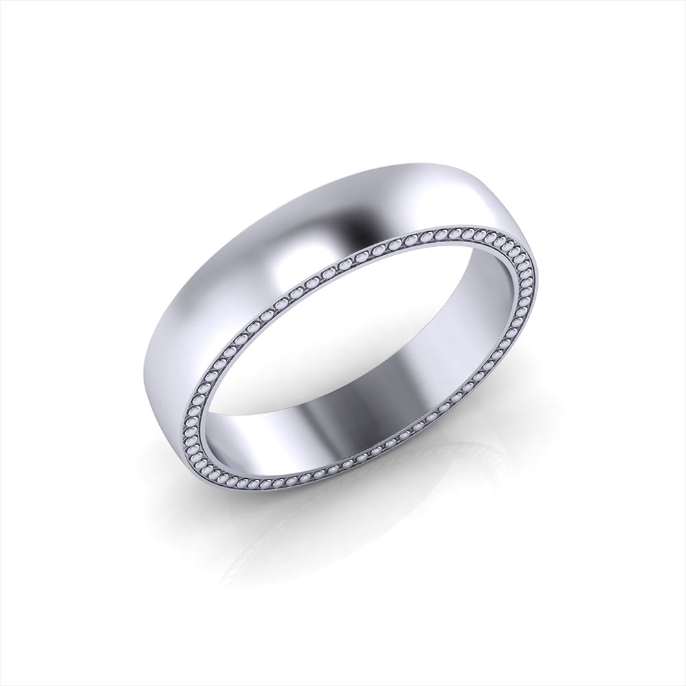 Simple Men S Wedding Ring