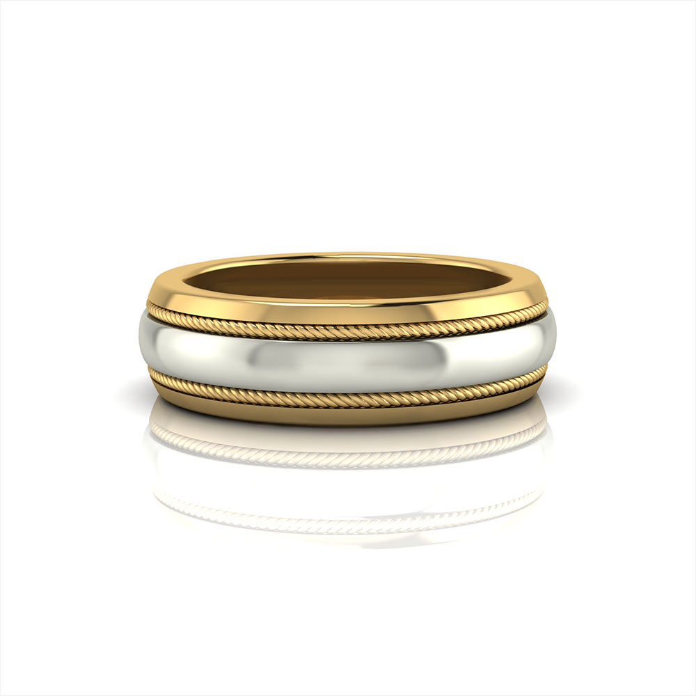 Men's Twisted Wire Band