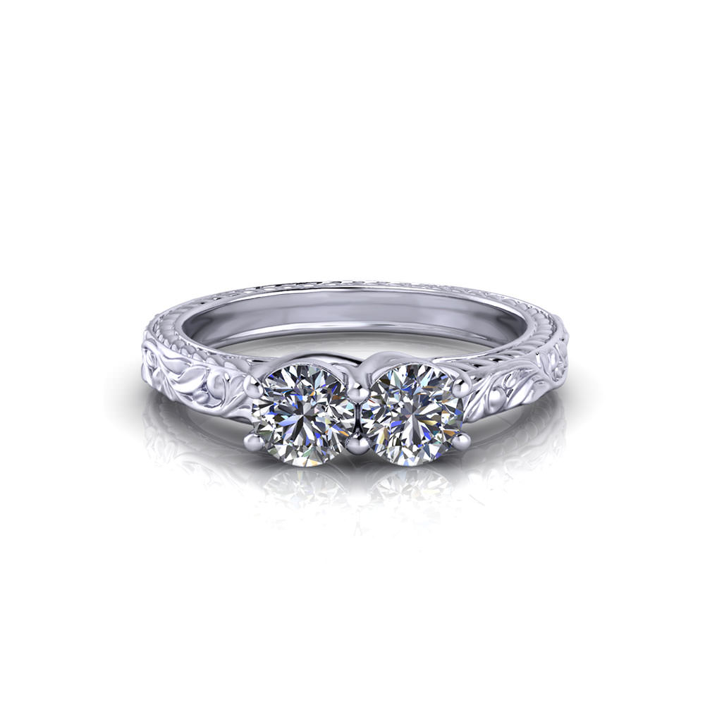 ring stone platinum jewelers diamond addessi sapphire and