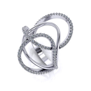 Loopy Diamond Ring