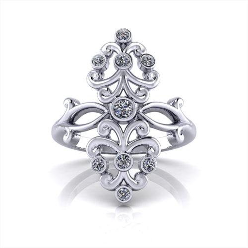 Diamond Spray Ring