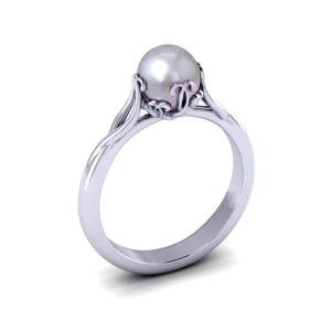 Artistic Pearl Ring