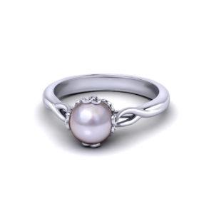 Artistic Pearl Ring