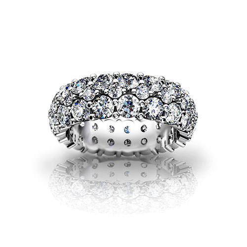 Diamond Pave Wedding Ring