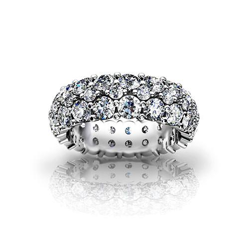 Diamond Pave Wedding Ring