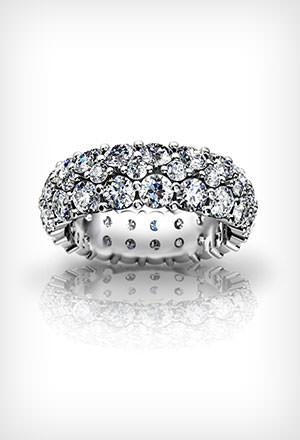 pave wedding rings