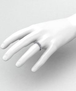 Diamond Bezel Eternity Band