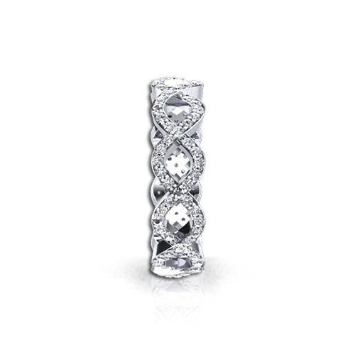 Infinity Diamond Wedding Ring