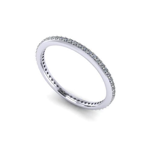 Thin Diamond Eternity Ring