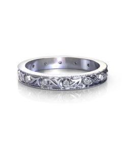 Antique Diamond Wedding Ring