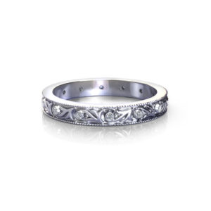 Antique Diamond Wedding Ring