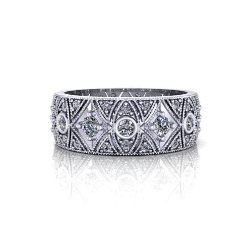 WD389-1-milgrain-diamond-wedding-band