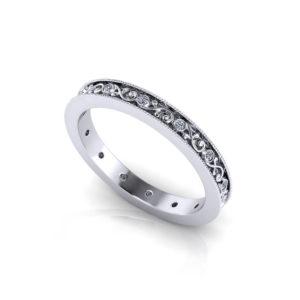 Vintage Diamond Wedding Ring