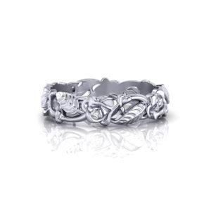 Rose Wedding Ring