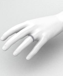 Diamond Station Eternity Ring