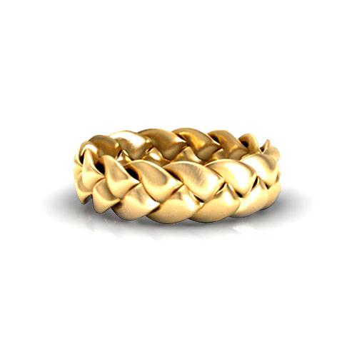 Braided Wedding Ring