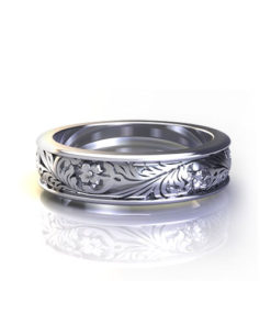 Enchanted Garden Wedding Ring