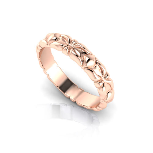Sculpted Wedding Ring