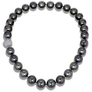 Black Tahitian Pearl Necklace