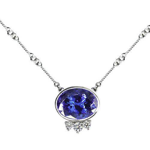 Tanzanite Necklace Jewelry Designs