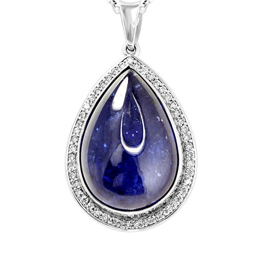 Pear Shape Tanzanite Necklace Jewelry Designs
