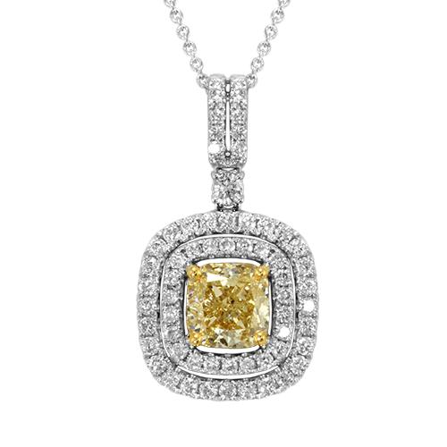 cushion-cut-yellow-diamond-necklace-H