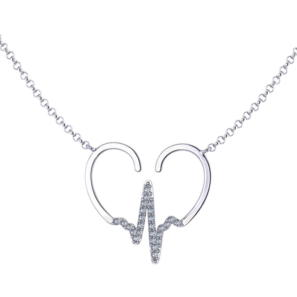 Pulse Heart Necklace