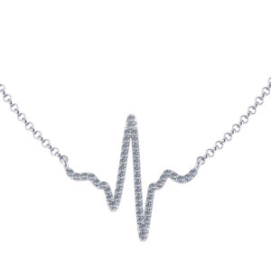 Diamond Pulse Necklace