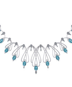 Aquamarine Statement Necklace