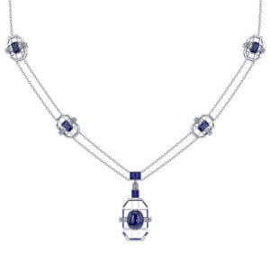 Artisan Sapphire Necklace