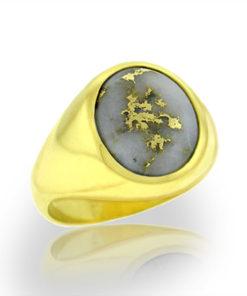 Gold Bearing Quartz Ring