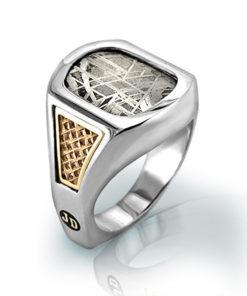 Men's Meteorite Ring