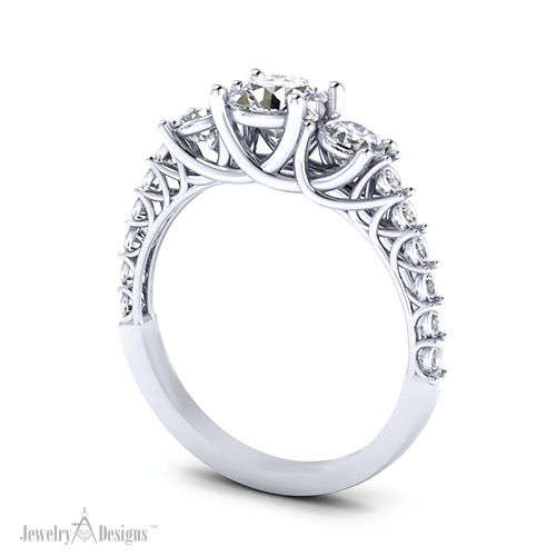 C146962 Delicate Trellis Ring