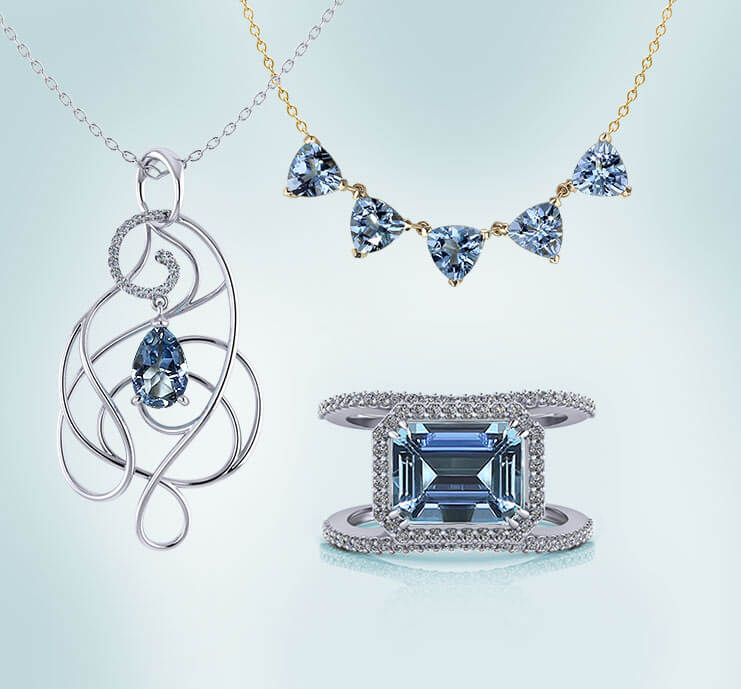 Browse Aquamarine Jewelry