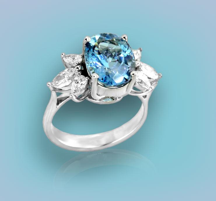 Browse Aquamarine Rings