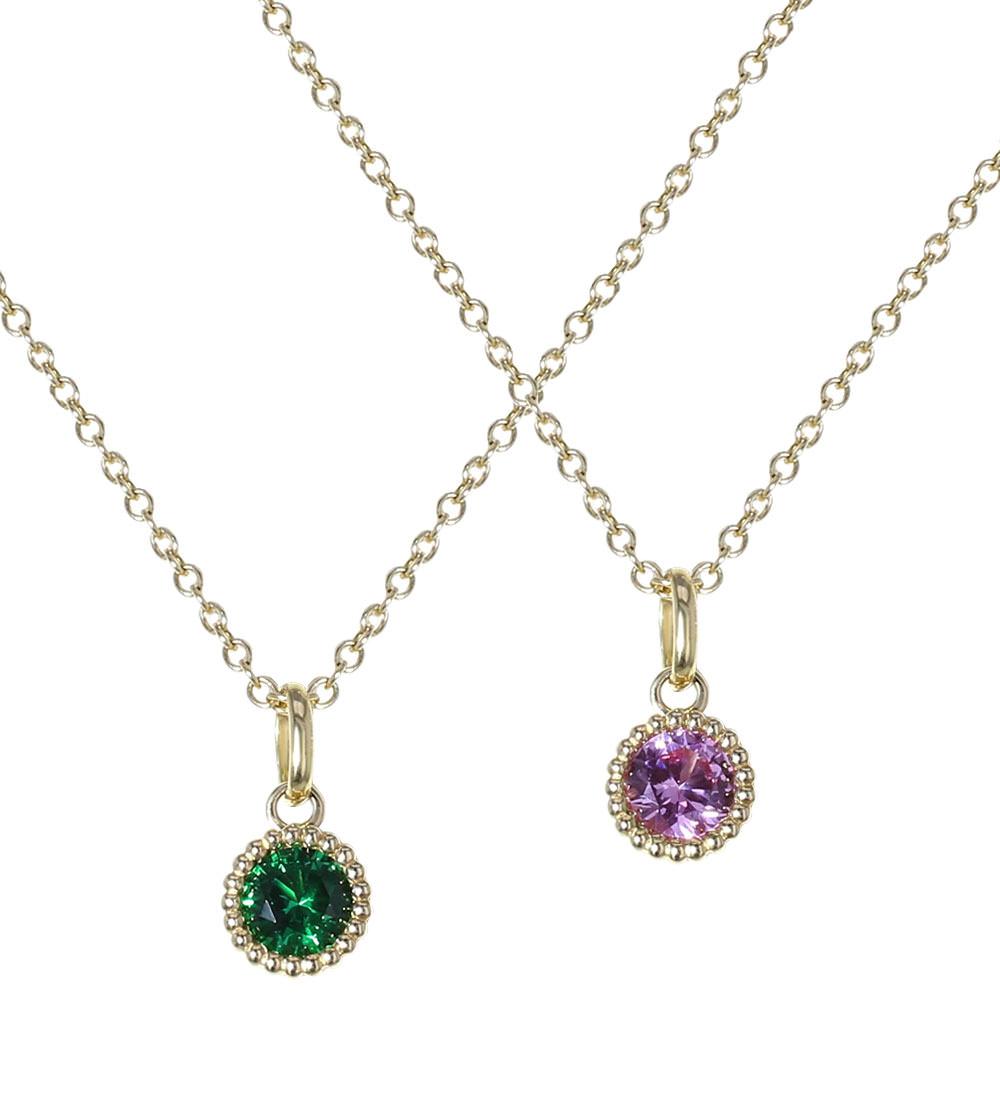 Birthstone Earrings Ideas: Birthstone Necklace