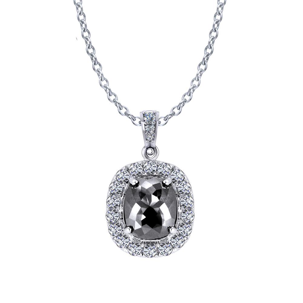 Black Diamond Necklace | Jewelry Designs