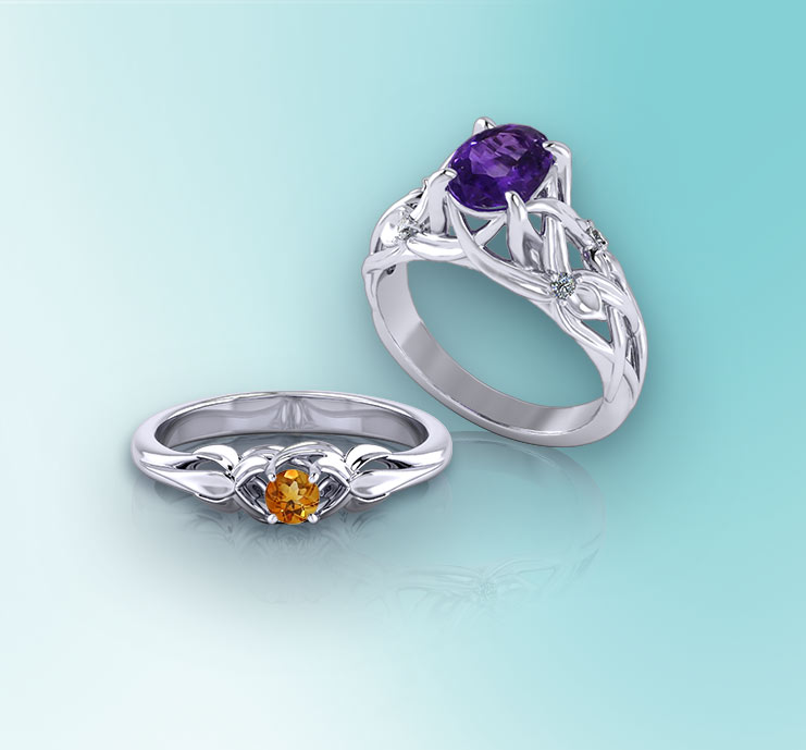 Browse Birthstone Rings
